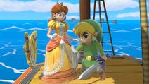 Daisy and Toon Link