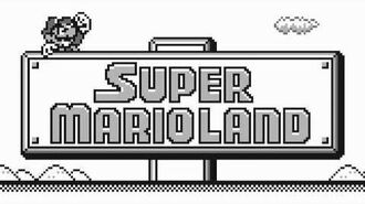 Game Over - Super Mario Land