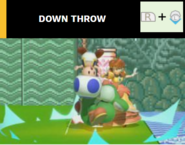Down throw
