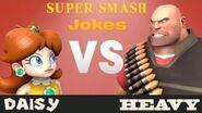 SSBU Daisy VS Heavy JOKE