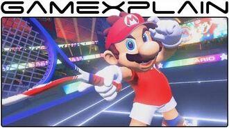 Mario Tennis Aces Reveal Trailer (Switch - Nintendo Direct Jan 2018)