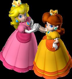 Peach and Daisy MP7