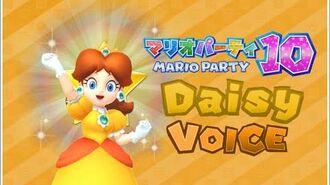 Mario Party 10 -Daisy- Voice