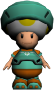 StrikersCharged Toad Model Daisy Teal
