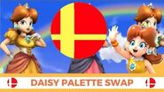 Super Smash Bros Daisy's Palette Swap!!