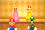 Mario luigi peach and daisy by dominiquepucca-d5n821v