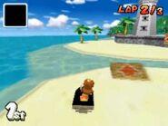 Daisy on Cheep Cheep Beach