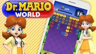 Dr Mario World - Dr DAISY Gameplay! 👩‍⚕️👩‍⚕️