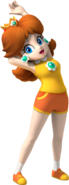 Daisy Artwork - Mario & Sonic at the Olympic Games (1)