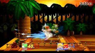 Yoshi vs Peach