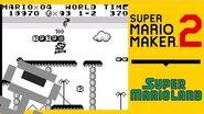 Super Mario Maker 2 SUPER MARIO LAND REMAKE