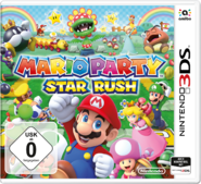 Mario party star rush box art