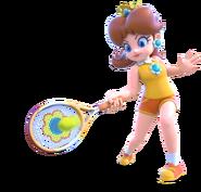 Princess Daisy - Mario Tennis Ultra Smash