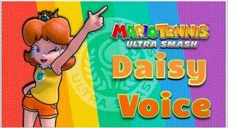 Mario Tennis-Mario Tennis Ultra Smash -Daisy- Voice