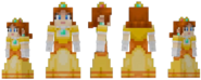 Princess daisy minecraft official skin by michael lol-da3bzco