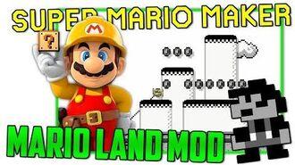 Super Mario Land - Super Mario Maker Mod