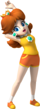 Daisy Artwork - Mario & Sonic at the Olympic Games