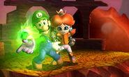 Luigi and Mii Daisy