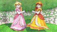 Peach and Daisy Brawl