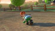 Mario kart 8 daisy yoshi bike
