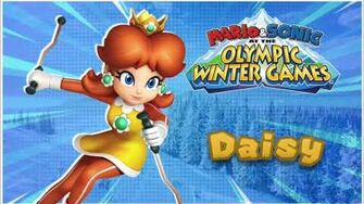 Wii - Mario & Sonic Olympic Winter Games - Daisy Voice