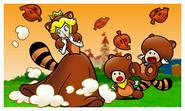 Tanooki Peach Super Mario 3D Land