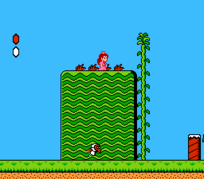 Super Mario Bros. 2 Original NES Peach Small