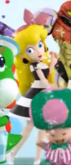 Screenshot of Peach wearing her Nintendo 3DS outfit