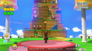 Tanooki Peach Super Mario 3D World