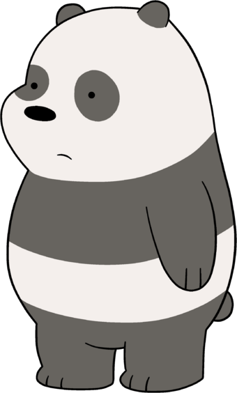 Panda Bear Canon We Bare Bears