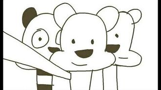 The Three Bare Bears Adventures Intro Storyboard