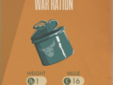 War Ration