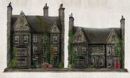 Hamlyn Village Residential Houses Concept Art 2