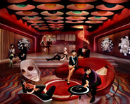 Sally's Interplanetary Travel Agency Second Floor Concept Art