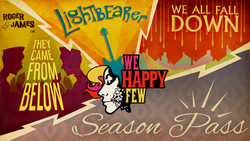 We Happy Few Season Pass Banner