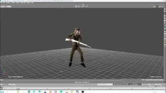 Animation Bayonet animation - We Happy Few