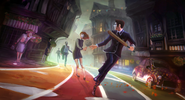 We Happy Few Cover Concept Art