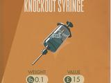 Knockout Syringe