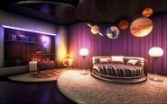 Sally's Interplanetary Travel Agency - Bedroom