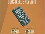 Constable's Keycard