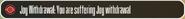 JoyWithdrawalStatus