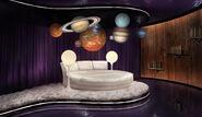 Sally's Interplanetary Travel Agency Bedroom Concept Art