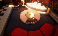 Sally's Interplanetary Travel Agency - Stereo Table