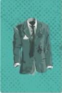 Torn suit