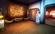 Sally's Interplanetary Travel Agency - Waiting Area