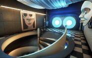 Sally's Interplanetary Travel Agency - Stair Hall