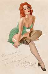 Miss Mitsy Pin-Up