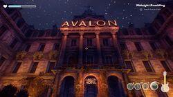 The Avalon Hotel Exterior