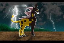 Mega form girafarig assuming by moichao10-d6j1uxe