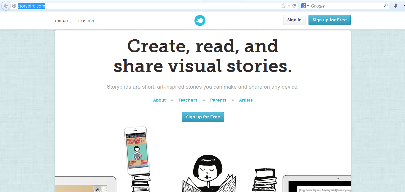 Storybird web 20 tools wiki fandom powered by wikia storybird is an extremely engaging site that allows students to focus more on the content of their writing rather than drawing pictures baditri Gallery